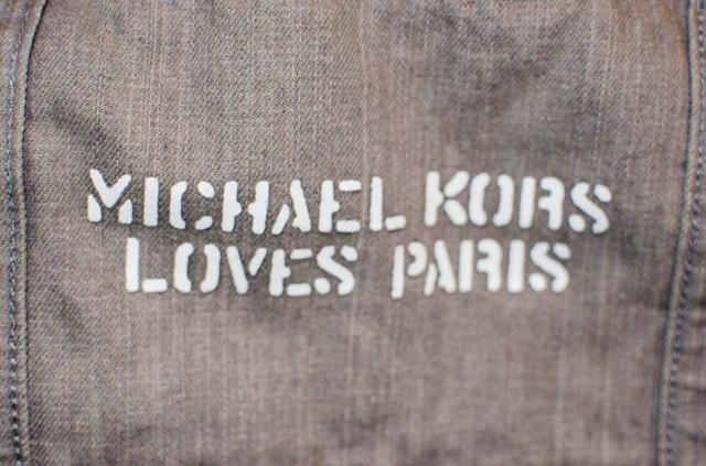 Michael Kors loves Paris lui aussi