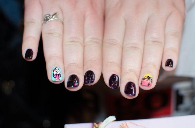 Les ongles de Pauline